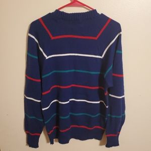 Vintage | Colorful Striped Sweater